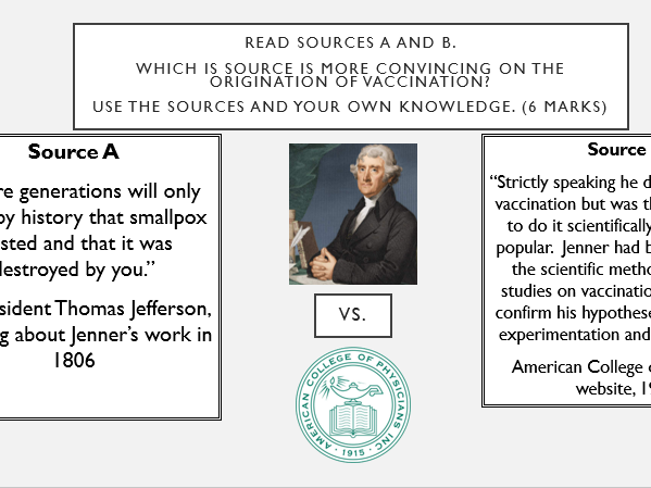 Does Jenner deserve credit for discovering vaccination? Engaging, simple, concise easy to follow.