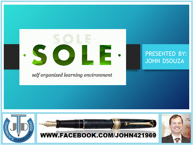 SOLE - SELF ORGANIZED LEARNING ENVIRONMENT: PRESENTATION