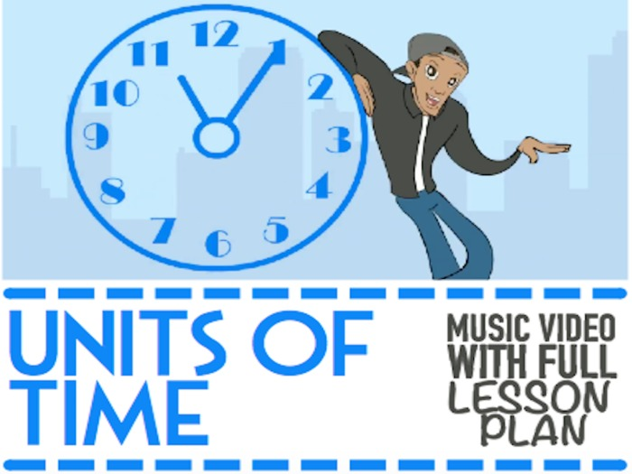 Seconds, Minutes, Days, Months, Leap Years, Decades, Centuries, Millenniums | MUSIC VIDEO LESSON |