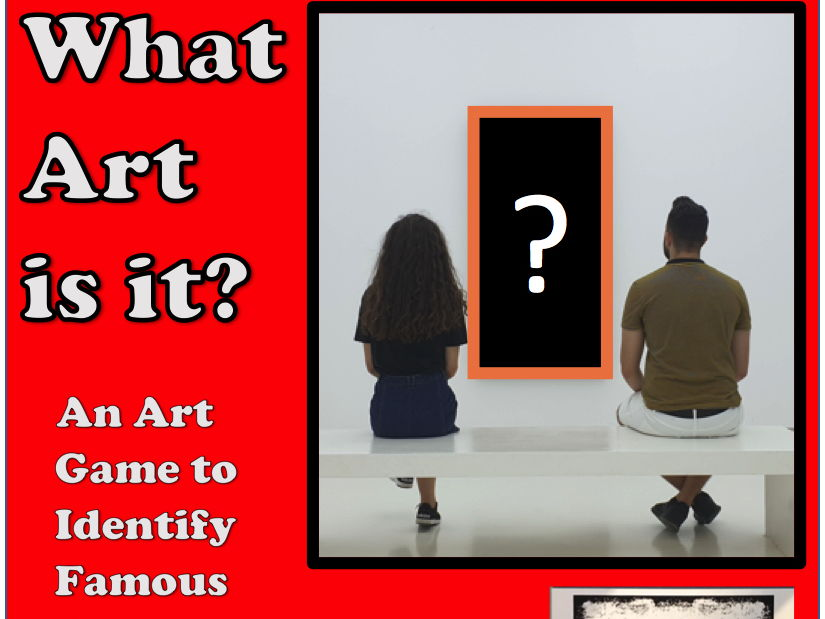Art Game  - 'What Art is it?'
