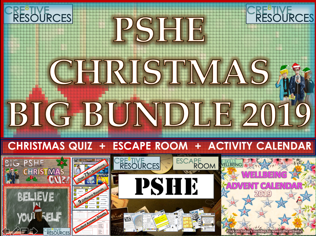 PSHE Christmas 2019 Bundle