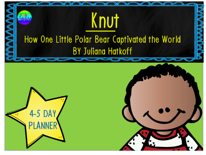 Knut by Juliana Hatkoff 4-5 Day Lesson Plan