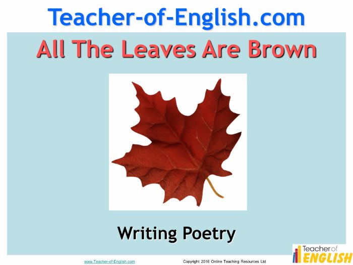 autumn poetry powerpoint and worksheets by teacher of primary teaching resources tes. Black Bedroom Furniture Sets. Home Design Ideas