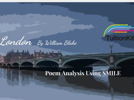 London - by William Blake (SMILE Analysis points)