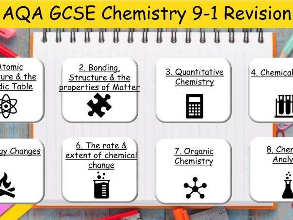 AQA GCSE Chemistry Revision 9-1