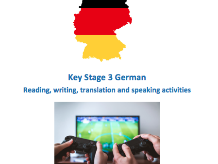 German Key Stage 3 - Technology - New GCSE-style activities