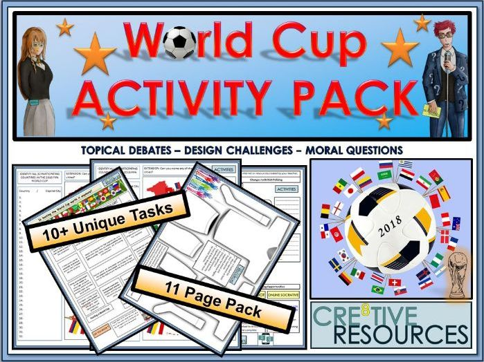 World Cup 2018 Activity Pack