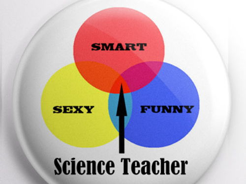 Teacher Badge - Science Teacher