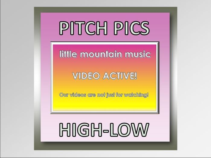 Video Active! PITCH PICS-HIGH LOW