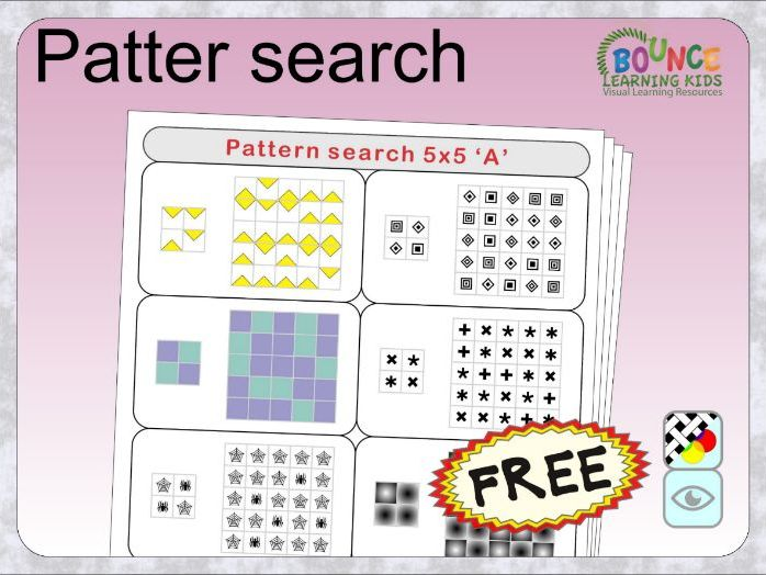 Pattern search (FREE)