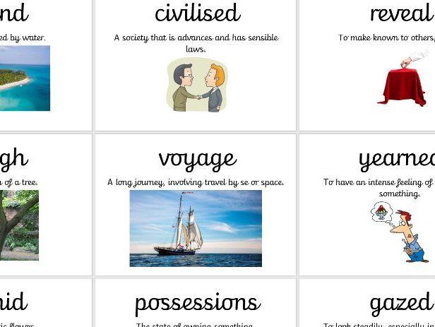 Visual Vocabulary Jemmy Button