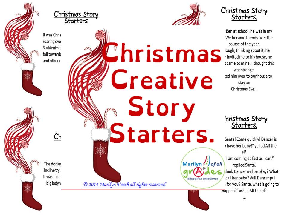 Christmas Story Starter Prompts for Writing