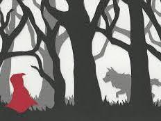 Rotkäppchen  Little Red Riding Hood in German an abridged / simple version