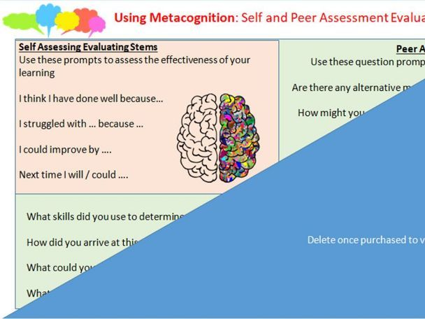 Metacognition Toolkit: Oracy and Peer Assessment