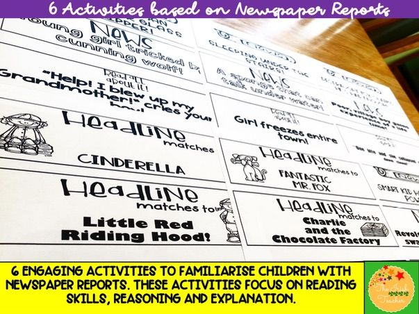 Whole Class Guided Reading: Newspaper Reports