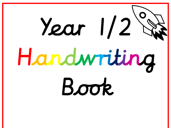 Year 1 and 2 Handwriting Booklet
