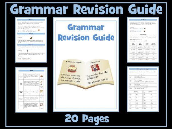 Grammar Revision Guide