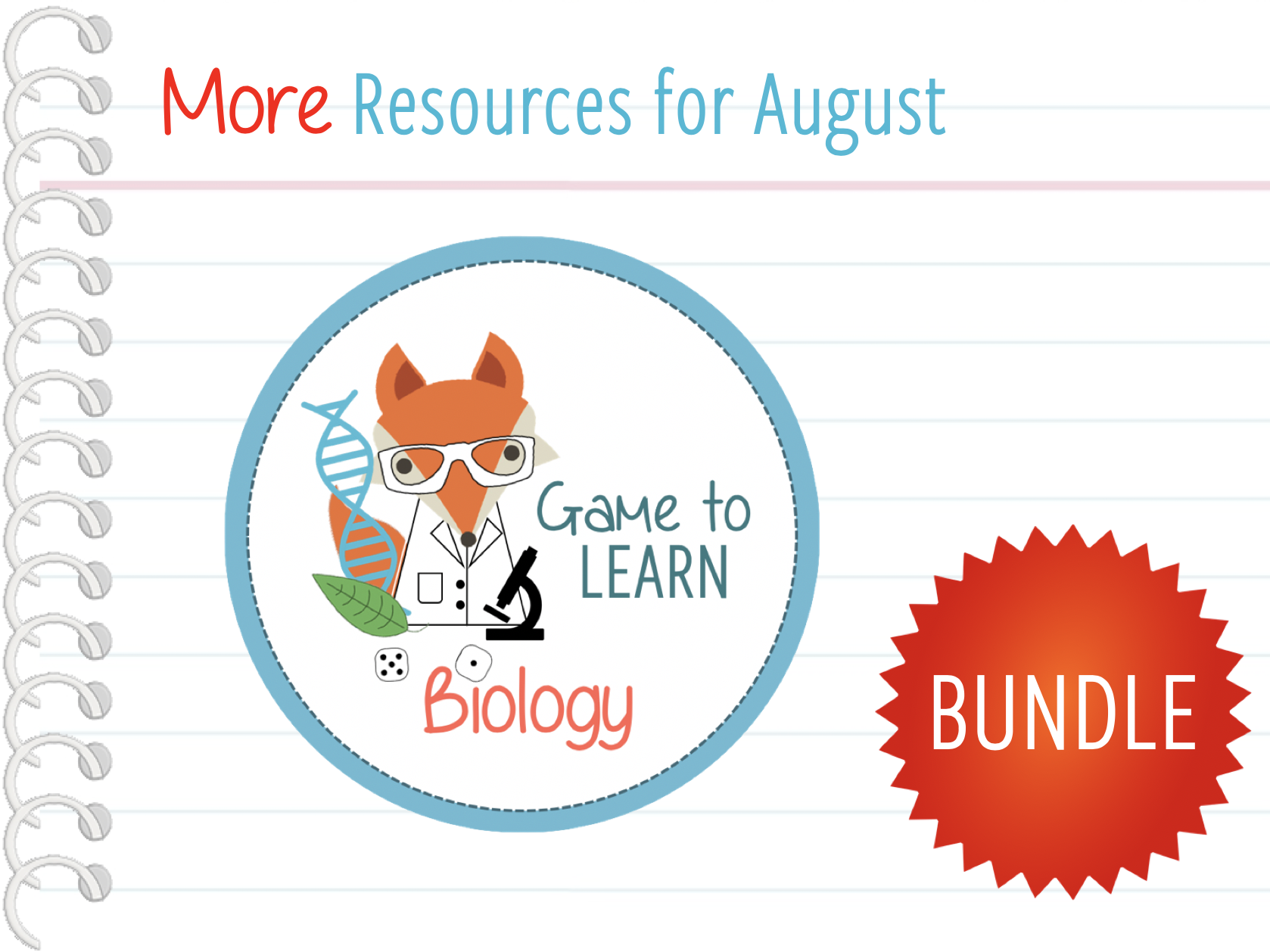 New Biology resources Bundle