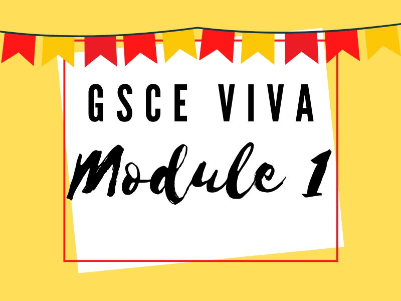 GCSE Viva - Module 1