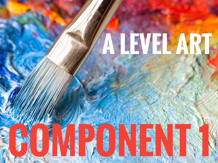 A Level Art. Component 1. Support. AQA