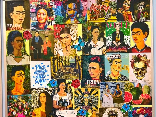 FRIDA KAHLO FULL MURAL  ULTRA HD DISPLAY