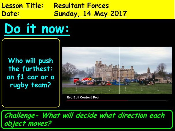 Resultant Forces: 9-1 GCSE Physics