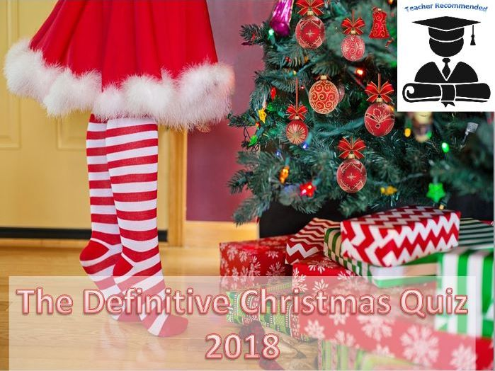 The Definitive Christmas Quiz - 2018 Edition