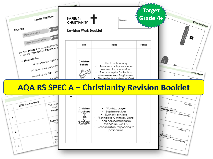 AQA GCSE RS Christianity Revision Booklet
