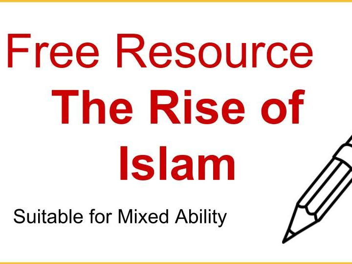 Free Rise of Islam Worksheet