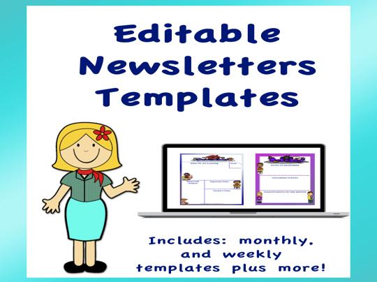 Editable Newsletters Templates Volume 2