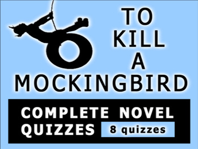 To Kill a Mockingbird Novel Chapter Quizzes w/ Answers (8 Quizzes) Harper Lee