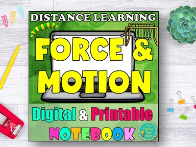 Force and Motion Distance Learning Curriculum