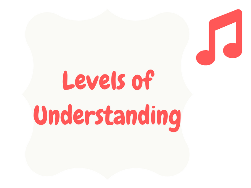 Levels of Understanding (scales)