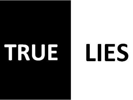 True Lies - A Play With 20 Monologues