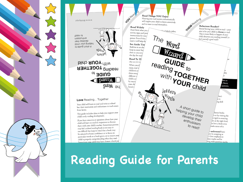 Word Wizard Reading Guide for Parents