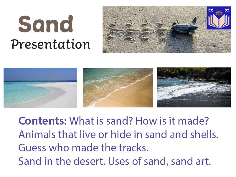 Sand Presentation