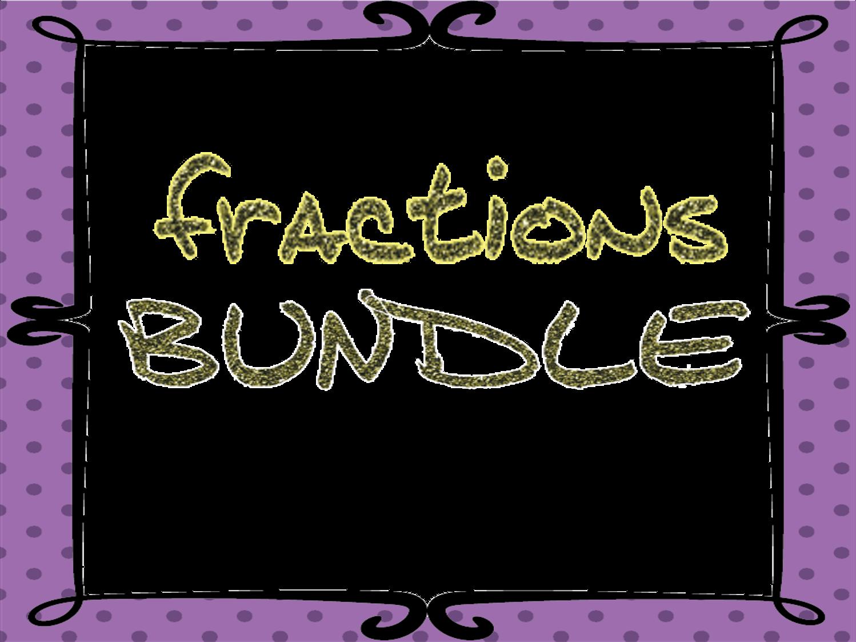 Fractions activities bundle