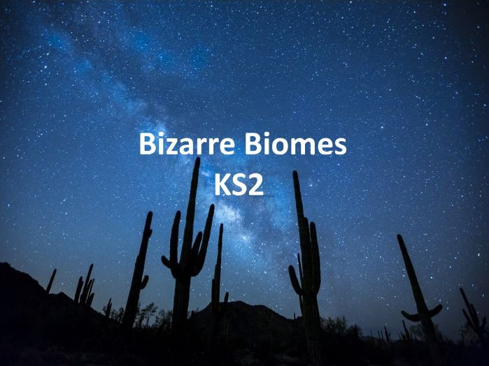 Key Stage 2 Geography - Bizarre Biomes