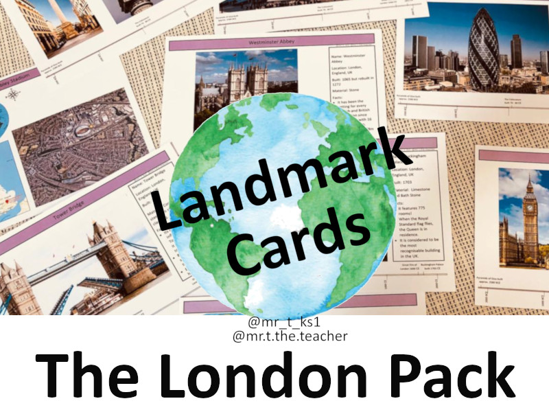Landmark Cards: The London Pack