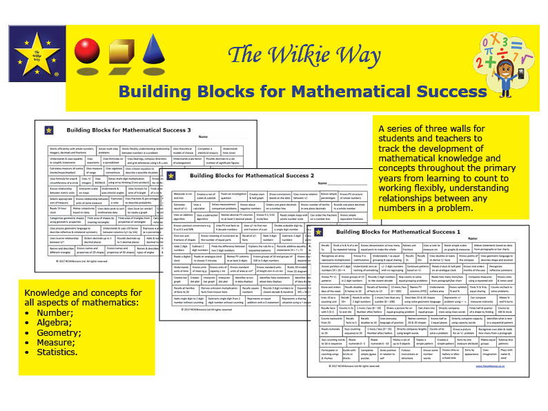 Tracking the Building Blocks For Mathematical Success