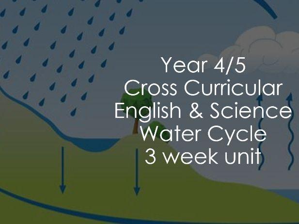 Cross Curricular Water Cycle 3 Week Unit