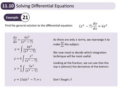 New Edexcel A Level Year 2 - Ch11 Integration