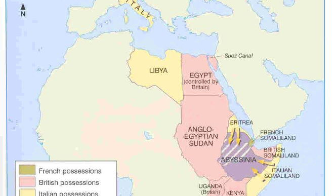 Diamond 9: Why did Mussolini invade Abyssinia in 1935-36?
