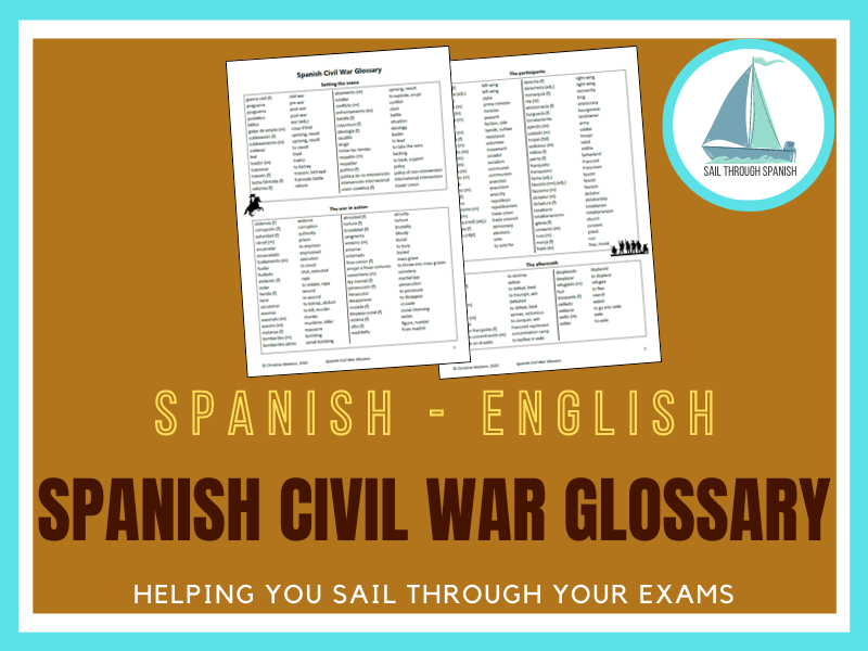 Spanish Civil War: A Glossary for Spanish AS/A Level