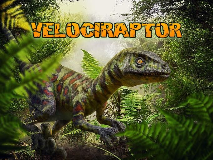The Velociraptor for Kids Audiobook & Activity