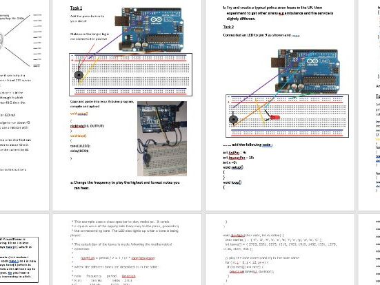 Programming using Micro-electronics with Arduino microcontroller ( part 2of 4)