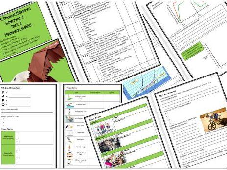 GCSE PE - Edexcel - Component 1 - Homework Booklet Part 3