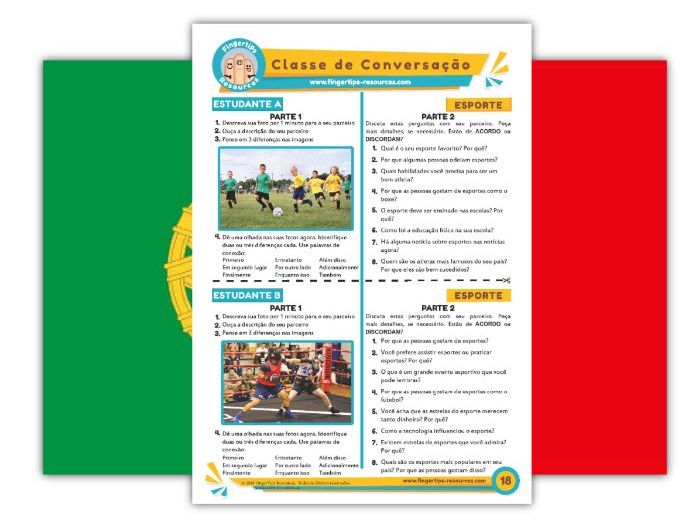Esporte - Portuguese Speaking Activity