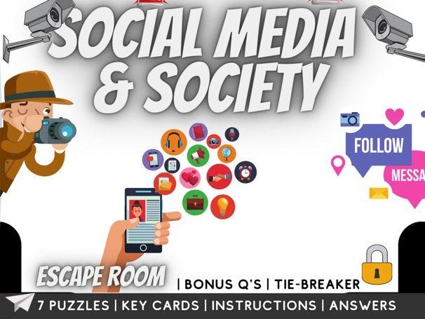 Social Media escape room