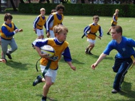 Tag Rugby KS1 and KS2